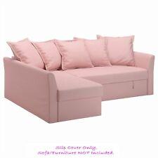 IKEA HOLMSUND Cover for Corner Sofa-Bed ~ Ransta Light Pink: 203.017.28 | BNIB