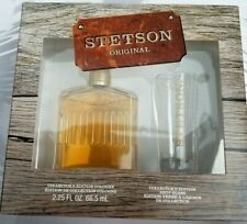 Stetson Original Collector's Edition Cologne 2.25 oz & Shot Glass Gift Set NEW