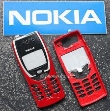 ORIGINALE Nokia 8210 A-cover chassis guscio superiore HOUSING FASCIA FRONT ASSY Rosso Nuovo