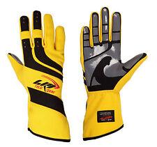 LRP Kart Racing Gloves- Speed Gloves Black/Yellow