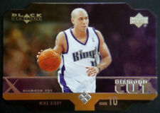 2004-05 Black Diamond MIKE BIBBY Die Cut Quad Horizontal Rare SP 1:400