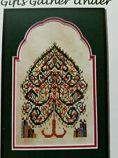 Turquoise Graphics & Designs Cross Stitch Chart Gifts Gather Under