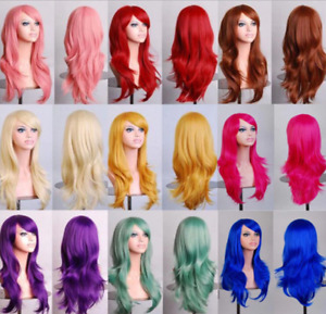 Hair Wigs Synthetic Long & Straight Auburn Ginger, Black, Burgundy Red and more!