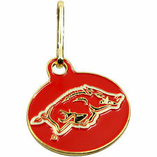 NEW! Arkansas Razorbacks U Can Zip It Gym Bag Luggage, Jacket, Purse Zipper Pull