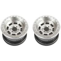 Axial Racing 43006 2.2 Trail Ready HD Beadlock Wheel Satin 2 pieces