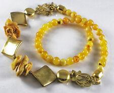 Natural butterscotch baltic amber necklace
