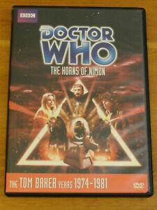 Doctor Who THE HORNS OF NIMON Story No. 108 DVD 2010 Tom Baker R1