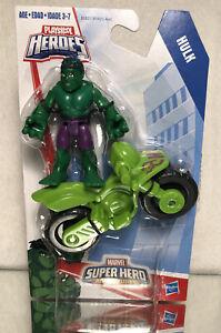 PLAYSKOOL HEROES MARVEL SUPER HERO ADVENTURES: HULK /  NEW ON CARD