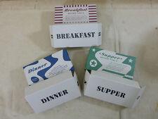 US Army ww2 rations Type K Breakfast cene cena razioni cartone empty!