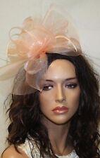 Light Pink Color Fascinator, Fascinator with Clip, Headband, Wedding Accessories