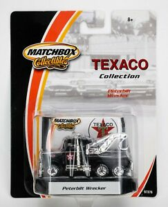 2002 Matchbox Collectibles Texaco #6 1981 Peterbilt Wrecker BLACK