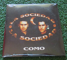 Latin Pop LA SOCIEDAD **Como** RARE 1998 PROMO CARDSLEEVE Spain CD SEALED!