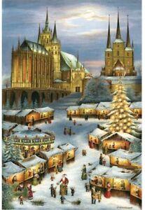 """Adventskalender """"Erfurt Weihnachtsmarkt"""" verschiedene Formate / 1 Stück"""