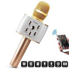 Wireless Microphone Surround Sound Systems Karaoke Pro W/ 12w Hi-Fi Stereo Alloy