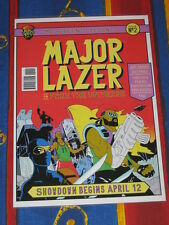 MAJOR LAZER - FREE THE UNIVERSE -  LAMINATED PROMO POSTER