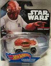 Hot Wheels Star Wars Admiral Ackbar Vehicle!