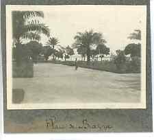 Congo français, Brazzaville, Place de Brazza  Vintage silver print. Vintage Afri
