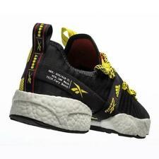 Reebok Sole Fury Boost Black Red OG Men Running Shoes 100%LEGIT FW0167 Adidas
