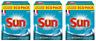 Sun Tablettes Lave-Vaisselle Tout-En-1 180 Lavages (Lot de 3x60 Lavages)