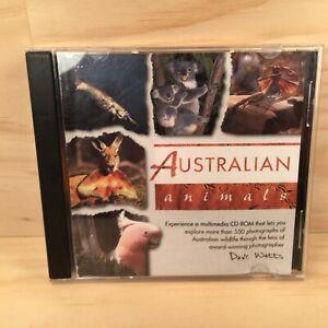 AUSTRALIAN ANIMALS Photographic Multimedia Computer PC Program (2003)