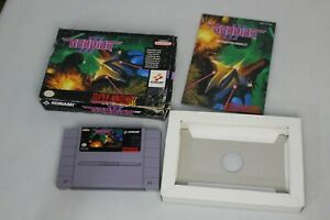 SNES Gradius III (1991, Konami) Super Nintendo Gradius 3  with box and Manual