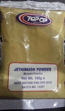 Top-op Jethimadh powder (Liquorice Licorice Mulethi Root Sticks Powder) 100g