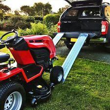 400KG 1.6 Metre Steel Loading Ramps Trailer Van Truck Motorbike Ride On Mower