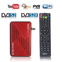 HD DVB-S2 FTA Tv Tuner Satellite Receiver Blind Wifi RJ45 Youtube IPTV Decoder