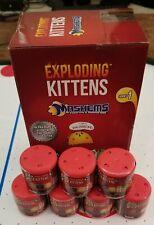 Lot of 3 Mashems Capsules Exploding Kittens NEW ARRIVAL! Rare HTF /w Bonus Card!