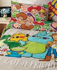 Disney Toy Story 4 Double Duvet Cover Set With Two Pillowcases