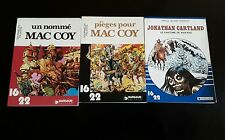Lot de 3  Dargaud 16/22, Mac Coy et Jonathan Cartland