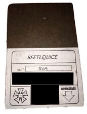 Beetlejuice Musical Stage PieceUsed Pre Broadway Run Prop Set Un Signed Playbill