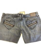 New Frankie B Jeans Cut Into Shorts Size: 12