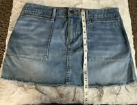 Womens Size 8 American Eagle Outfitters Jean Mini Skirt