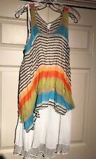 Pretty Angel sleeveless layered tunic top size S-M-L-XL detachable pieces