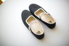 NEW Bonton Black Star lining Slippers size 33 shoes US 2 Luxury French Design
