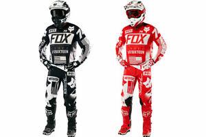 Delicate Fox 360 MX Gear Riding Crosskleding Motocross Racing Suit MX MTB ATV
