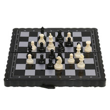 Pocket Magnetic Plastic Mini Folding Chessboard Chess Set Pcs Toy Kids Gifts