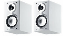 CANTON CHRONO 502.2 White GERMAN MADE 100 Watt Bookshelf Speakers (pair)- NEW