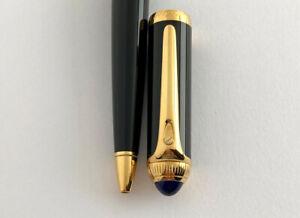 Cartier Roadster Black & Gold Ballpoint pen.