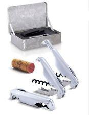 New Pulltex Pulltaps  Corkscrew  Corkscrew X-tens Set Sliver Gift