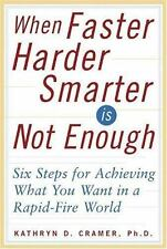 When Faster-Harder-Smarter Is Not Enough: Six Steps for Achieving What-ExLibrary