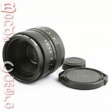 35mm F/1.6 C Mount CCTV Lens (For APS-C Sensor) + C mount to Sony NEX adapter