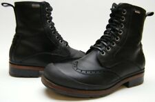 MEN Ugg Branton 1001571 BLK Full Grain Leather Waterproof ANKLE LACE UP Boots 10