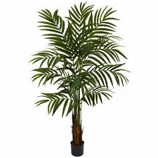 Big Palm Tree Artificial Silk Plant Nearly Natural 5'' Home Office Decoration