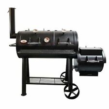 Coals Texas Offset Smoker & BBQ Grill 2 Year S/steel Grills