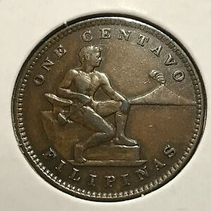 1904 PHILIPPINES ONE CENTAVO HIGH GRADE COIN COIN