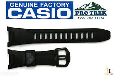 CASIO Pro Trek Pathfinder PRG-110Y Black Rubber Watch BAND Strap PRW-1300Y
