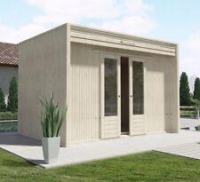 Casetta in Legno Moderna design LA PRATOLINA spessore 33 mm di abete 3.5x2