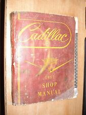 1957 CADILLAC SHOP MANUAL USED SERVICE BOOK BASE BOOK FOR 1958 SHOP MANUAL